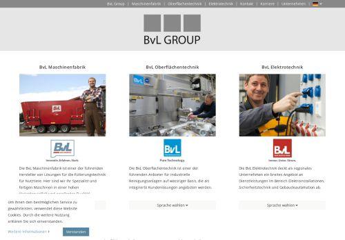 bvl-group.de Desktop Screenshot
