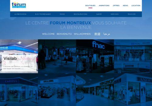forum-montreux.ch Desktop Screenshot