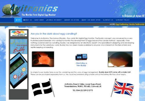 avitronics.co.uk Desktop Screenshot