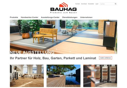 bauhag.ch Desktop Screenshot