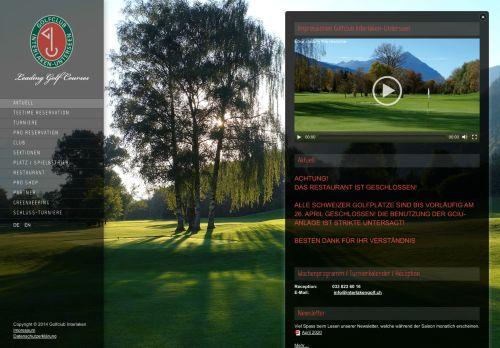 interlakengolf.ch Desktop Screenshot
