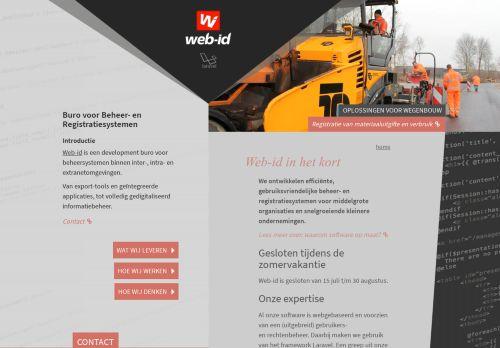 web-id.nl Desktop Screenshot