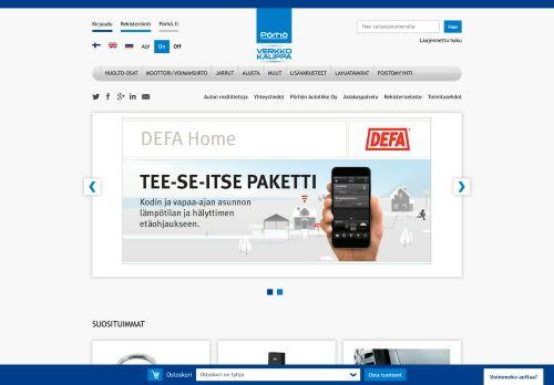 porhokauppa.fi Desktop Screenshot