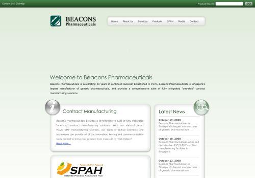 beacons.com.sg Desktop Screenshot