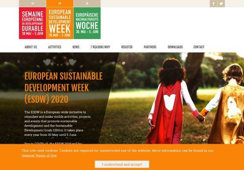 esdw.eu Desktop Screenshot