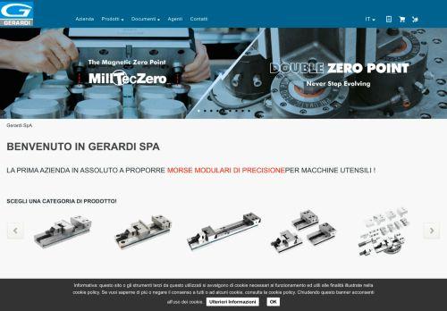 gerardi.it Desktop Screenshot