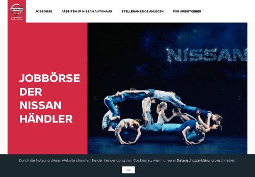 nissan-jobboerse.de Desktop Screenshot