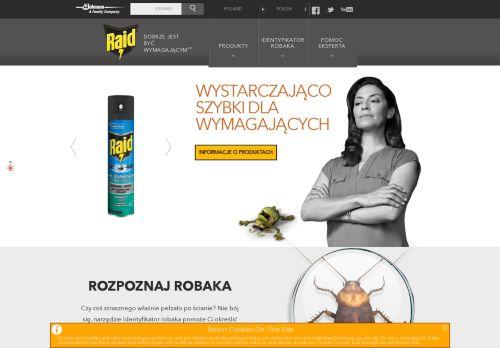 raidpoland.pl Desktop Screenshot