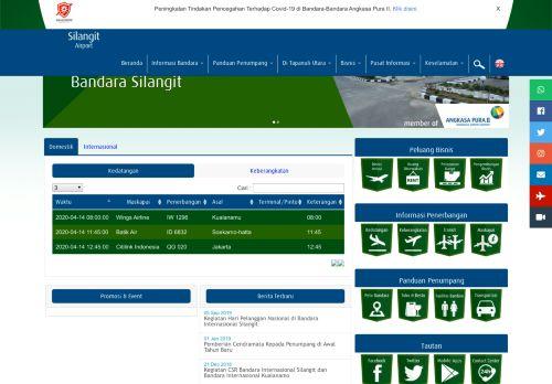 silangit-airport.co.id Desktop Screenshot