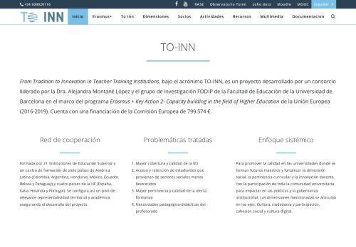 toinn.org Desktop Screenshot