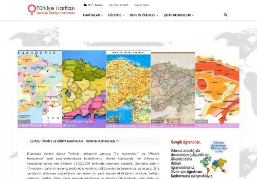 turkiyeharitasi.gen.tr Desktop Screenshot