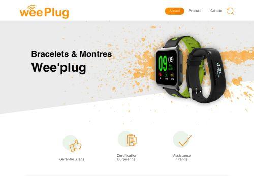 weeplug.fr Desktop Screenshot
