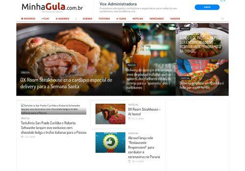 minhagula.com.br Desktop Screenshot