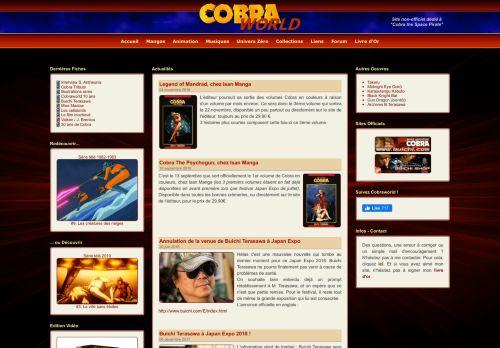 cobraworld.fr Desktop Screenshot