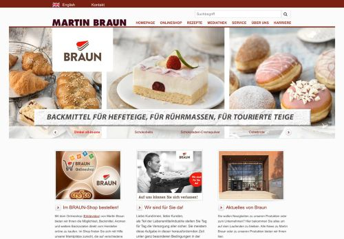 martinbraun.de Desktop Screenshot