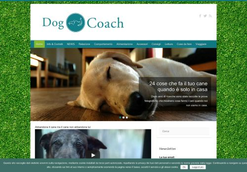 dogcoach.it Desktop Screenshot