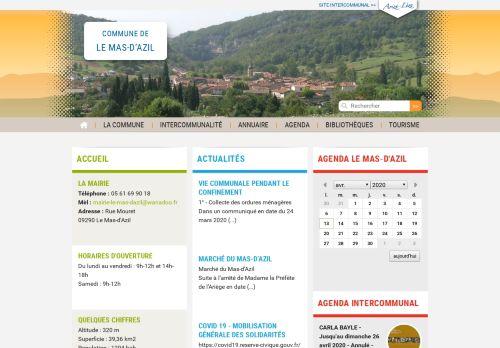 le-mas-dazil.fr Desktop Screenshot