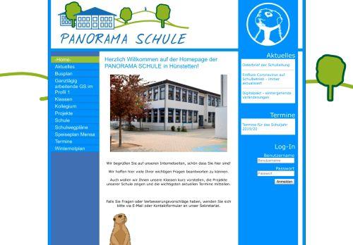 panorama-schule.de Desktop Screenshot