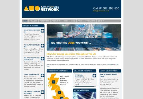 adrnetwork.co.uk Desktop Screenshot