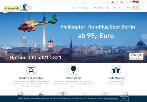 air-service-berlin.de Desktop Screenshot