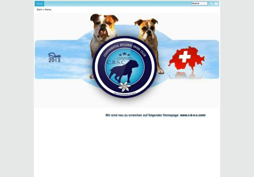 continental-bulldog-swiss-club.ch Desktop Screenshot