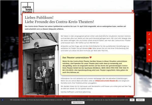 contra-kreis-theater.de Desktop Screenshot