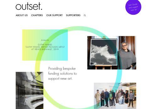 outset.org.uk Desktop Screenshot