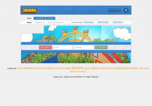 jacaro.es Desktop Screenshot