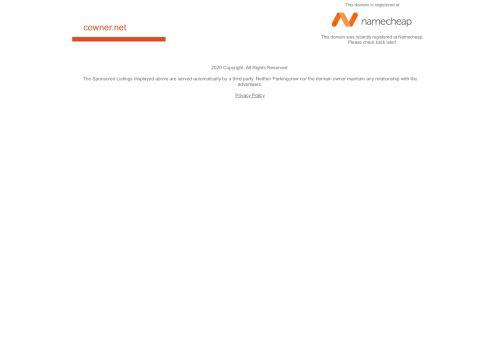 cowner.net Desktop Screenshot