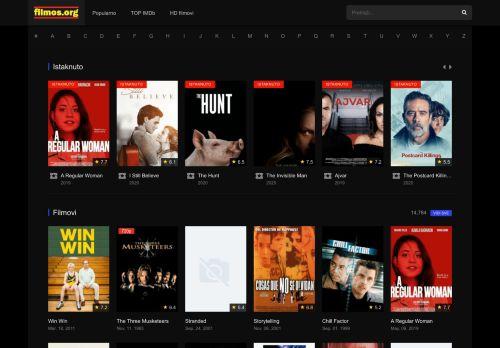 filmos.org Desktop Screenshot