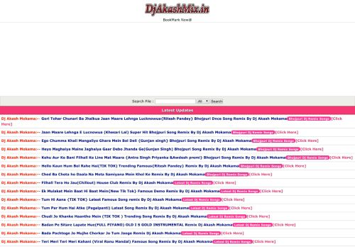 djakashmix.in Desktop Screenshot