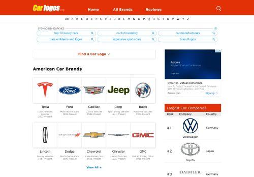 carlogos.org Desktop Screenshot