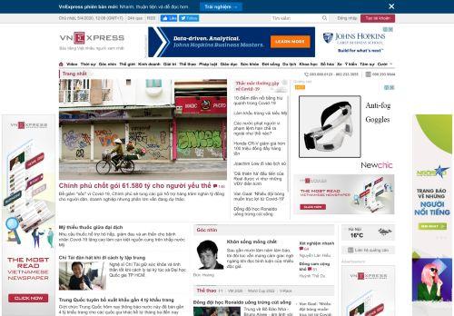 vnexpress.net Desktop Screenshot