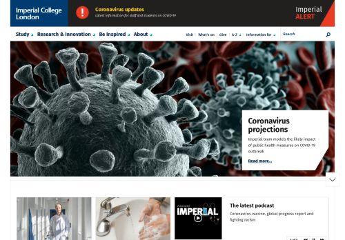 imperial.ac.uk Desktop Screenshot