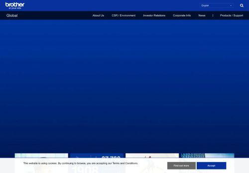 global.brother Desktop Screenshot