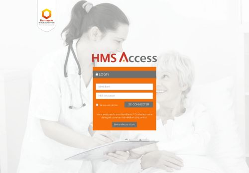 hms-access.fr Desktop Screenshot