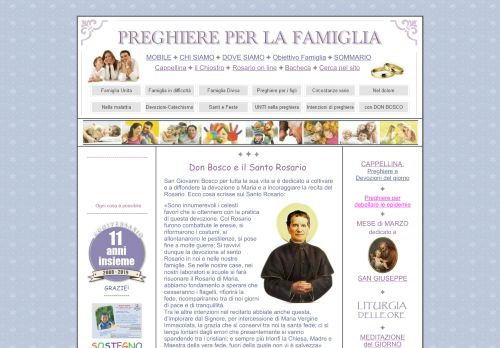 preghiereperlafamiglia.it Desktop Screenshot