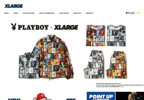 xlarge.jp Desktop Screenshot