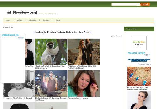 addirectory.org Desktop Screenshot