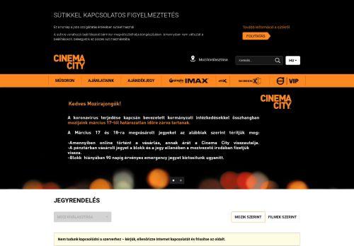 cinemacity.hu Desktop Screenshot