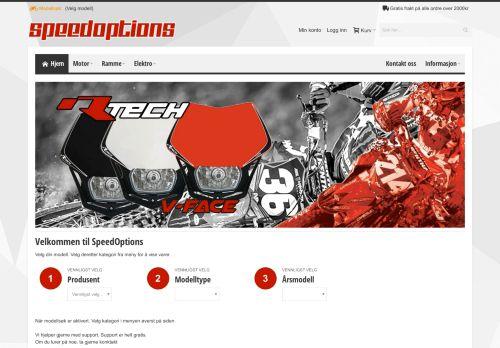 speedoptions.no Desktop Screenshot