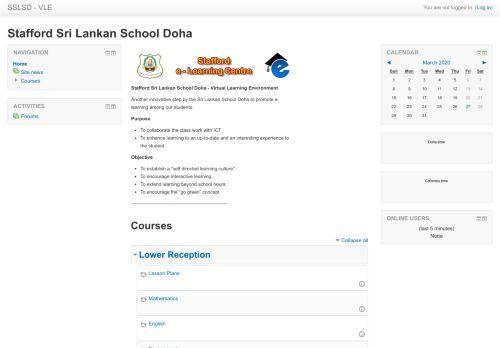 slsel.org Desktop Screenshot