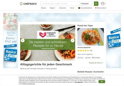 chefkoch.de Desktop Screenshot