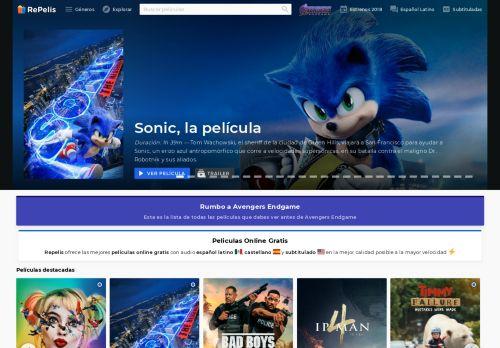 repelisgo.net Desktop Screenshot