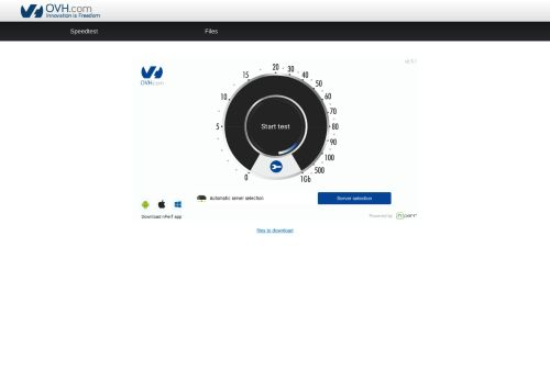 ovh.net Desktop Screenshot