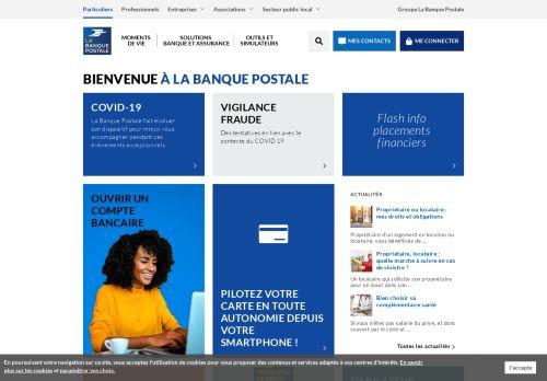 labanquepostale.fr Desktop Screenshot