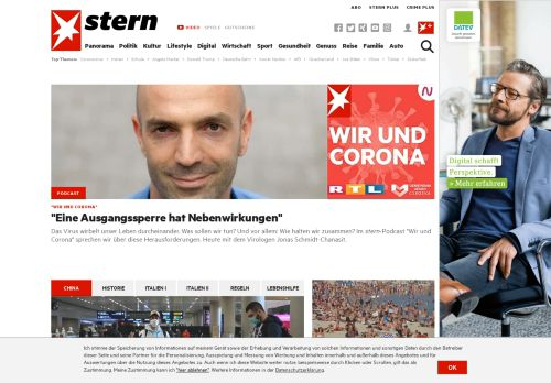 stern.de Desktop Screenshot