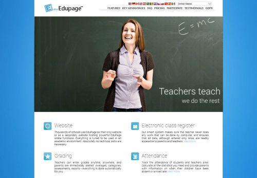 edupage.org Desktop Screenshot