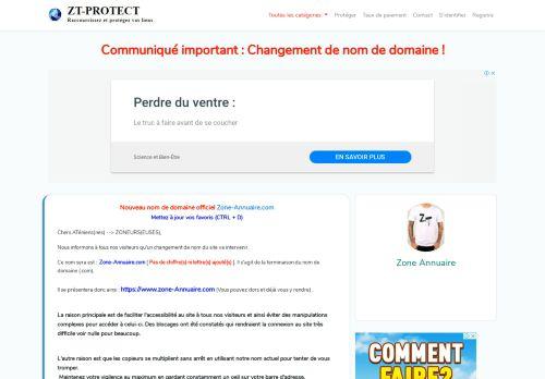 zone-telechargement.net Desktop Screenshot