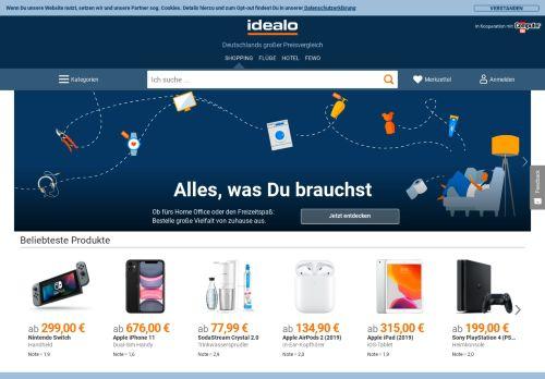 idealo.de Desktop Screenshot